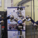 robot que prepara pizzas