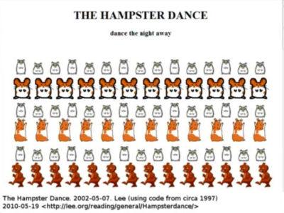 Hamster Dancing primer meme del mundo