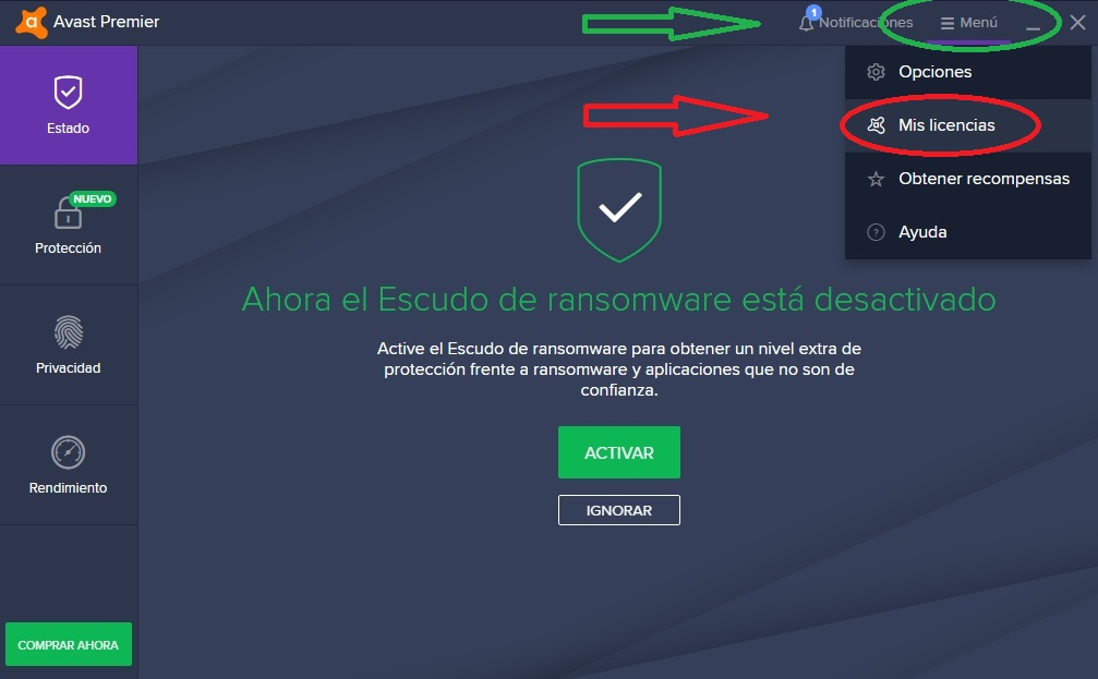 descargar avast antivirus full gratis licencia 2019